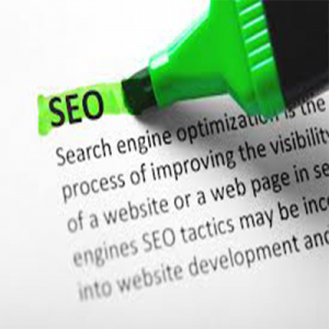 image of the word seo being hi lighted to show the importance